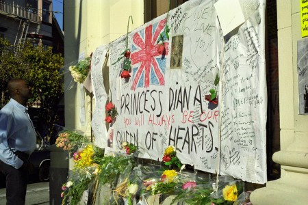 1997 Princess Diana Memorial in the Castro